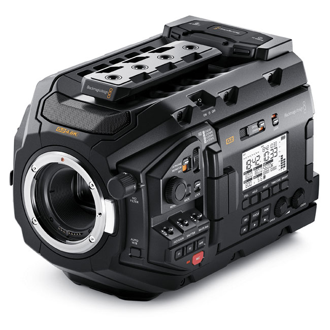 >Blackmagic URSA Mini Pro 4.6K G2