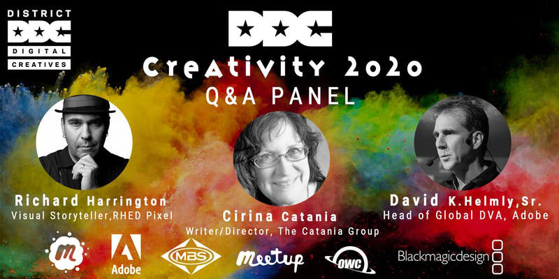 Creativity 2020 Q&A Discussion w/Pro Industry Leaders