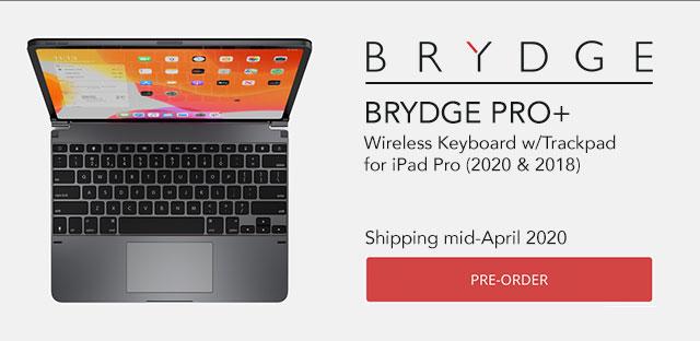 BRYDGE Wireless Keyboard w/Trackpad