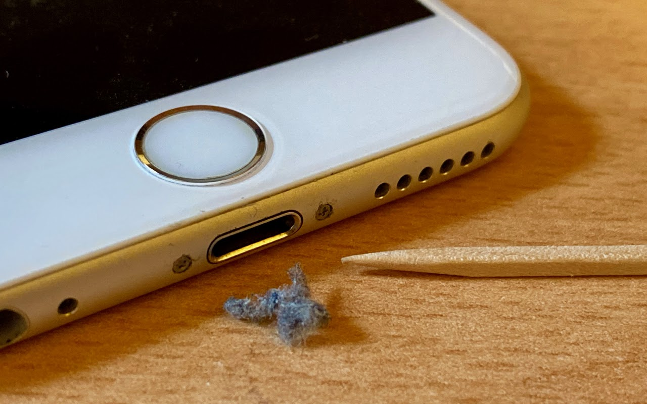 Clean iPhone Port
